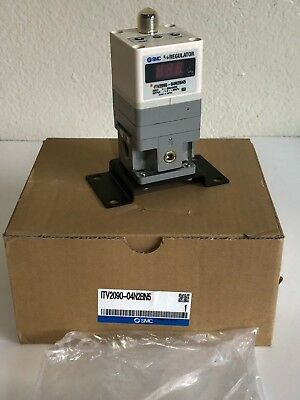 SMC ITV2090-04N2BN5 E/P Vacuum Regulator Electro-Pneumatic, -1.3 to -80 kPa, used for sale  McAllen
