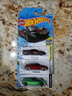 HOT WHEELS PAGANI HUAYRA LOT (3 CARS)