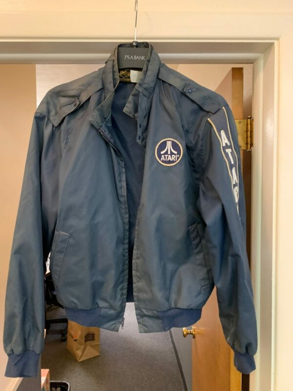 Vintage 70s 80s Atari Video Game Promotional Jacket Large Made In USA