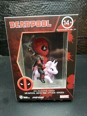 Deadpool Pony Mini Egg Attack 3.5-Inch Vinyl Figure. Near Mint to Mint Box. New
