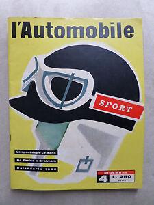 NUMERO-SPECIALE-SPORT-1959-L-039-AUTOMOBILE-ED-CANESTRINI