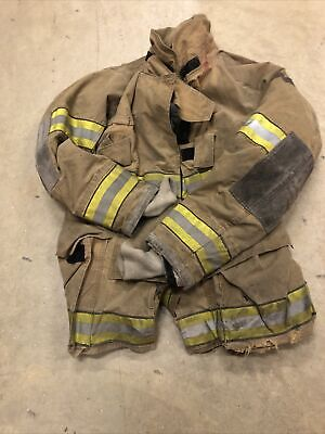 Mfg. 2006 Globe Gxtreme 44 X 35 Firefighter Turnout Bunker Jacket Fire Rescue