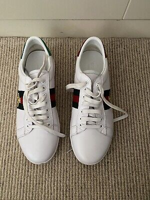 Gucci Women's  Ace embroidered sneakers Trainers Size 38 Size 5