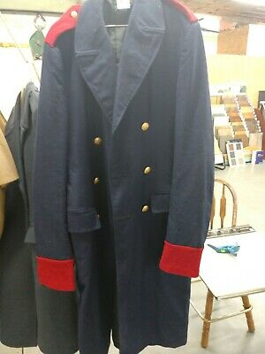 Prussian or Imperial German Pre WWI Over Coat - Dark Blue Used Repo