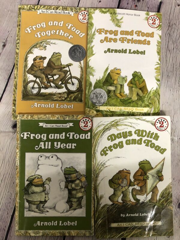Level 2 Readers~Lot of 4~FROG AND TOAD~  *FREE SHIPPING*  B-2 #185