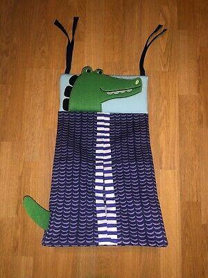 Alligator Purple Diaper Stacker / Holder - NEW!!