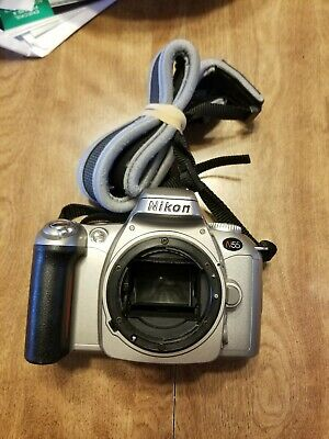 Nikon N55 35mm SLR Film Camera Body with Neck Strap - Tested , usado segunda mano  Embacar hacia Mexico