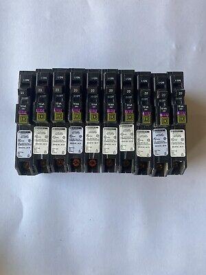 Square D Qo120pdf 20 Amp Dual Gfciafci 10 Pcs Read Description