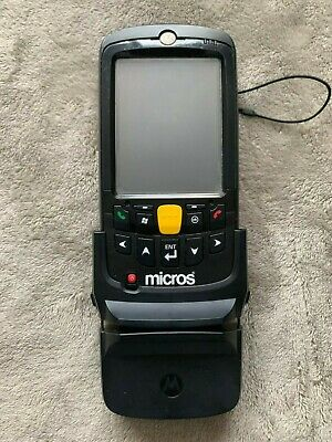 Symbol Motorola Mc5590 Laser Barcode Scanner With Stripe Reader Battery