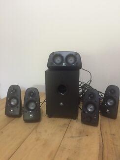 Logitech surround sound computer speakers