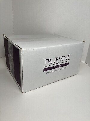 (QTY OF 500) TrueVine Chalice Prefilled Communion Cups and Wafer Set