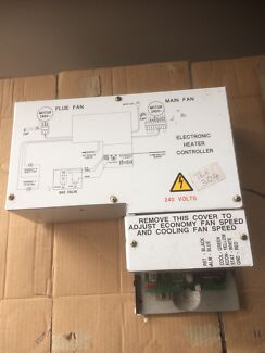 Brivis electronic heater controller