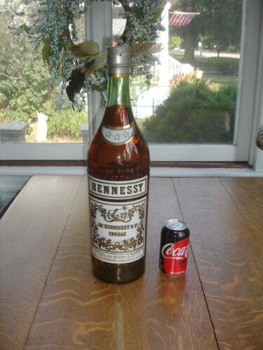 Rare Huge Vintage Hennessy Bottle Cognac Display Advertising Liquor Store Promo