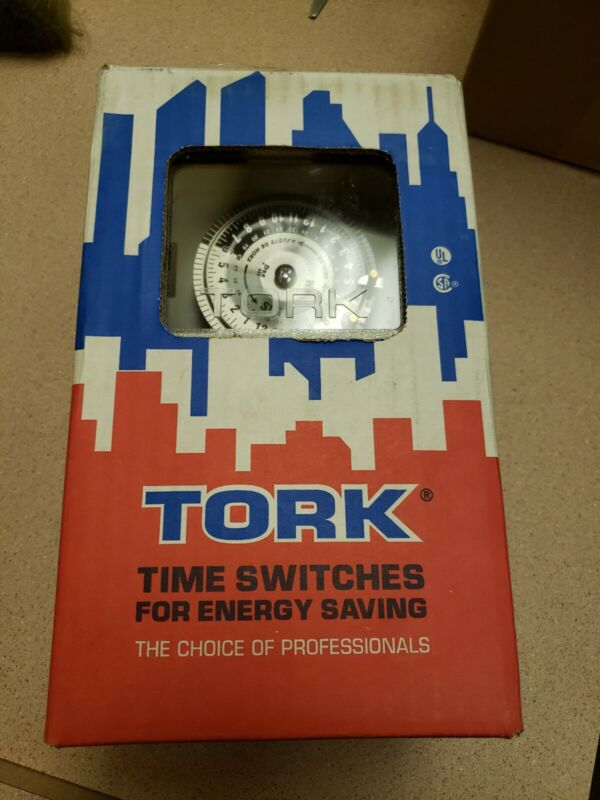 NEW Tork 24Hr Time Switch 1101NC Switch:  SPST 40A 120-277V