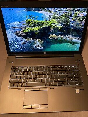 HP ZBook 17 G4 Laptop,Intel Core i7-7700HQ,16 GB RAM,512 GB SSD, WINDOWS 10 PRO