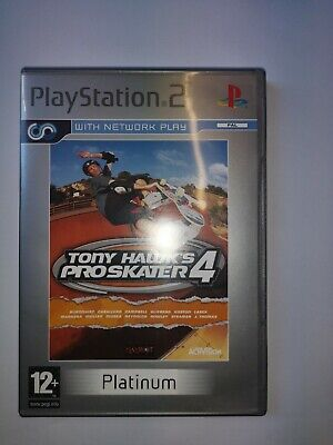 Tony Hawk's Pro Skater 4 (Sony PlayStation 2, 2002) platinum