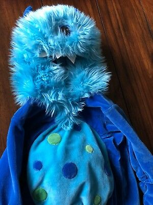 NEW BABY HALLOWEEN COSTUME BLUE ONE EYED MONSTER KOALA KIDS SIZE 9 MONTHS - One Eyed Monster Halloween Costume