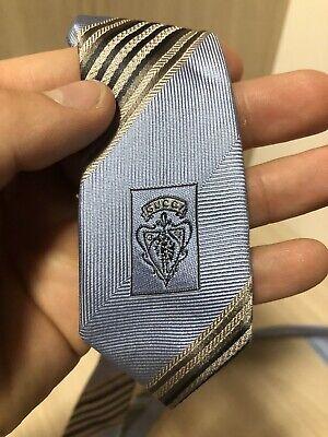 Vintage GUCCI Tie Silk 100% SOIE