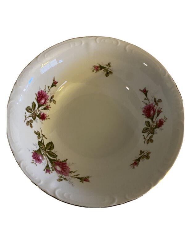 "Royal Rose Fine China Japan - 9"" Serving Bowl"
