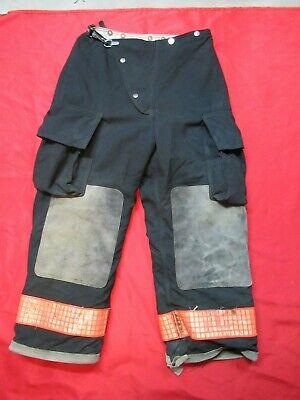 32 X 28 1990s Womens Globe Firefighter Fire Pants Bunker Turnout Gear Vtg