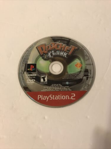 Ratchet Clank - PS2 Sony PlayStation 2, 2003 Disc Only Tested Working - $12.99