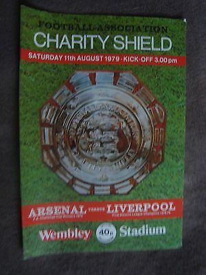 1980 CHARITY SHIELD - LIVERPOOL V WEST HAM UNITED  (WEMBLEY STADIUM)