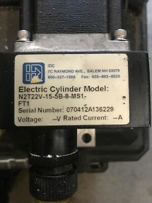 Idc Electric Cylinder N2t22v-15-5b-8-ms1 Linear Actuator