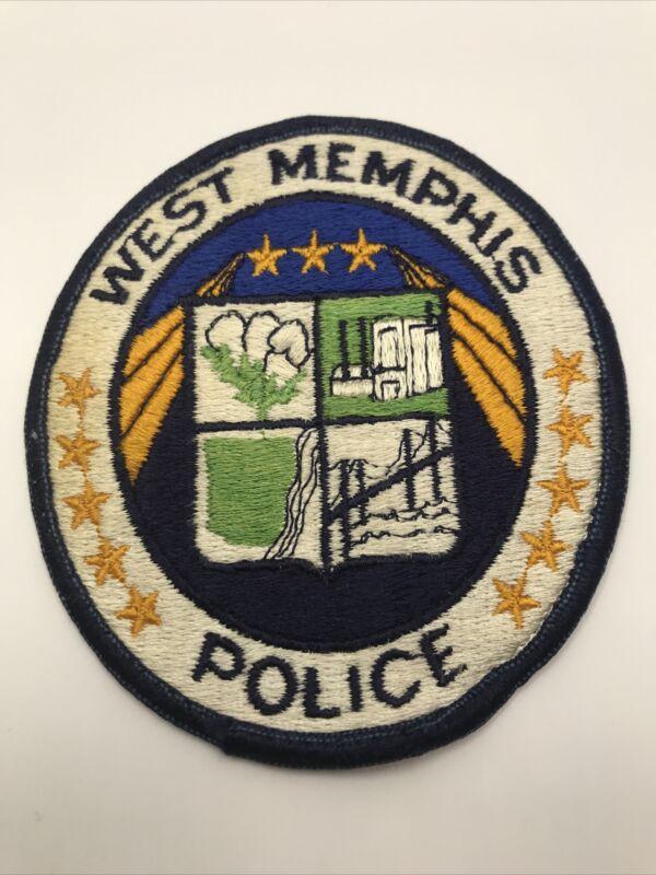 West Memphis Arkansas Police Dept Patch Vintage