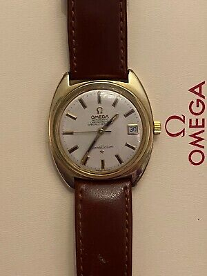 Omega Seamaster Gold Constellation 'C' Case Automatic Gents Watch