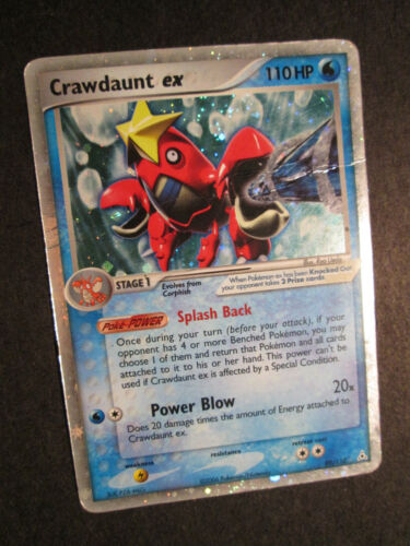 new Pokemon 3DY Japanese Crawdaunt 019//054 Holo Rare 1st Edition Ex Dragon