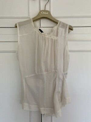 Joseph silk top, Size 8