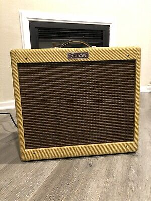 Fender Blues Junior - Laquered Tweed - 15 watt tube combo amp 12inch Limited