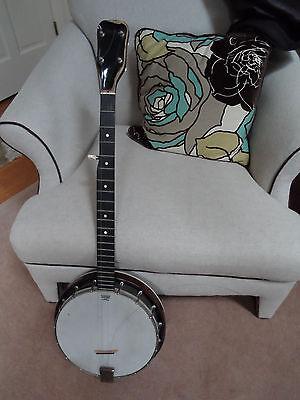 Vintage Harmony ? 5 String Banjo w/ Exotic Wood Resonator