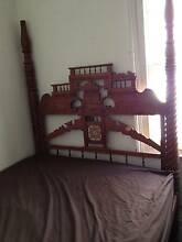 Antique wooden 4 poster bed Carlton Melbourne City Preview
