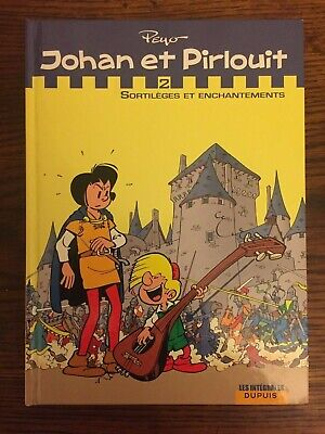 """""""Johan et Pirlouit"""" - Intégrale 2 Dupuis - Peyo - EO - TBE - Lu une fois"""