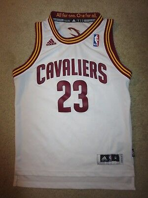 LeBron James #23 Cleveland Cavaliers Adidas NBA Finals Jersey Youth M 10-12