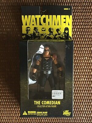 DC Direct Watchmen Series 2 The Comedian Flashback Exclusive Action Figure