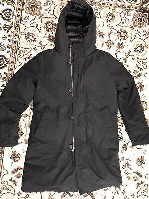ABERCROMBIE & FITCH MEN Refined Parka Hooded JACKET COAT Outerwear MEDIUM $228