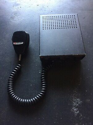 Federal Signal Pa300 Control Head Pa With Microphone 12v 100 Watt