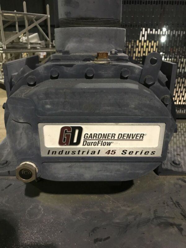 Gardner Denver DuroFlow Industrial 45 Series Blower GGDDADA 4512 4000 RPM