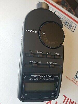 Radio Shack Digital Sound Level Meter Tester Model 30-2055
