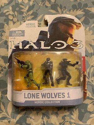Halo Reach Series 5 6 Inch Scale Spartan CQB Custom & 3 Sets