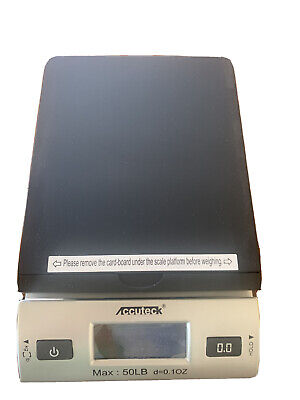 Accuteck All-in-1 Series W-8250-50bs Digital Postal Scale With Ac Adapter