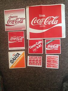 Coca Cola Sticker sets