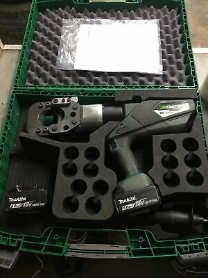 Greenlee Gator Esg55x Battery Cable Cutter Ground Rod Rebar Led Display