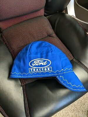 Wendys Welding Hat Made With Ford Tractor Application New
