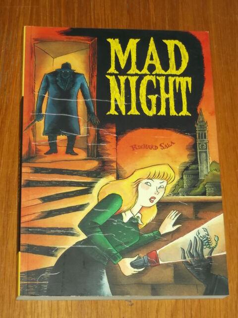 MAD NIGHT RICHARD SALA FANTAGRAPHICS GRAPHIC NOVEL 9781560976813 <