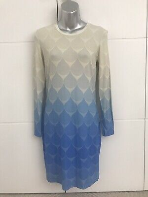Stunning Jonathan Saunders Ombre Long Sleeve Dress - Medium