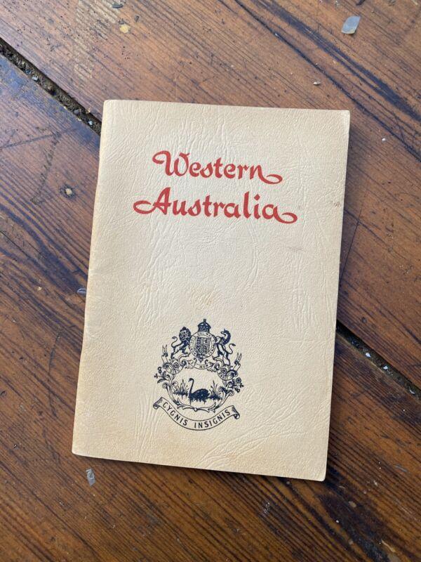 Western Australia Government Tourism & Migration Promotional Booklet 1956