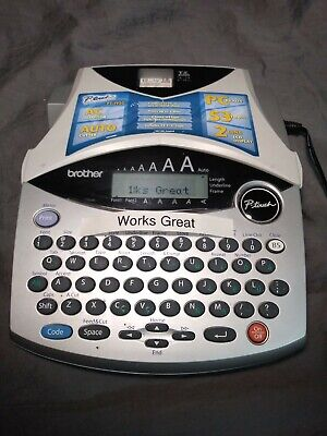 Brother P-touch Pt-1950 Electronic Label Printer With Ac Adapter